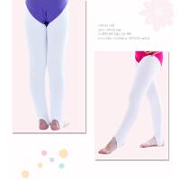 儿童舞蹈服女童踩脚裤健美裤打底裤薄款时尚跳舞拉丁舞练功服