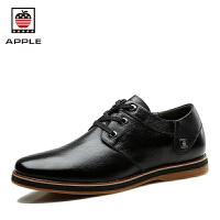 Apple苹果2016新款男士休闲皮鞋 真皮头层牛皮软底商务休闲鞋男鞋子AP-1612
