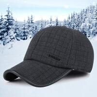 帽子冬天韩版棒球帽户外休闲运动秋冬季加厚保暖护耳鸭舌帽