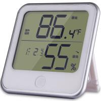 得力8959 温度计 挂壁式温度计/温湿度计 台式 儿童房家用 电子款 包邮