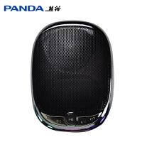 PANDA/熊猫 DS-121老人随身听插卡播放器老年收音机便携式外放小音箱迷你袖珍可充电听歌机念佛机