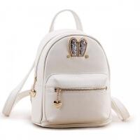 时尚新款韩版可爱女双肩包小清新潮粉色可爱小背包学生书包