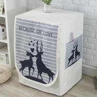 全自动洗衣机罩海尔LG小天鹅西门子滚筒洗衣机防晒防尘套子通用