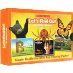 let's find out 英文原版 学乐小学课外阅读自然科普绘本24册盒装