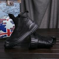 CUM2017秋冬季男鞋高帮鞋男士休闲皮鞋板鞋潮鞋