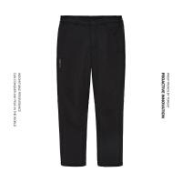 探路者软壳裤2021秋冬新款户外休闲保暖男式软壳长裤