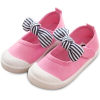 宝宝帆布鞋春夏女童布鞋学步鞋轻便幼儿园室内鞋