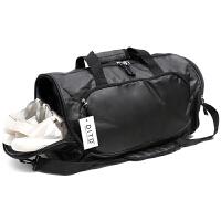 健身包女男运动训练包单肩斜跨手提旅行包干湿分离瑜伽游泳包鞋袋 大