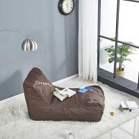 懒人沙发落地窗垫榻榻米垫子单人豆袋阳台窗台休闲布艺创意平躺椅