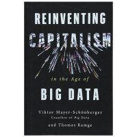Reinventing Capitalism in the Age of Big Data,大数据时代重塑资本主义 英文原版商业图书