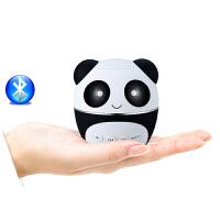 PANDA/熊猫 BA-260支付宝微信收款语音播报提示蓝牙音箱无线小音响重低音炮充电插卡迷你可爱小礼物儿童家用