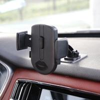 曲面可贴长杆360旋转车载手机支架汽车用导航夹子通用型