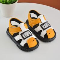 宝宝凉鞋会响叫叫鞋婴幼儿学步鞋软底包头