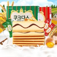 【包邮】韩国进口 可拉奥 奶油/咖啡蛋卷 72g*3盒
