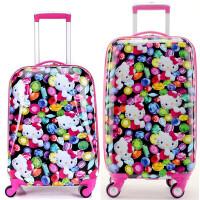 万向轮拉杆箱18寸20寸 儿童旅行箱 男女行李箱登机箱密码箱子卡通