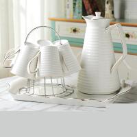 欧式陶瓷杯具客厅茶具水具套装 家用冷水壶茶壶耐热茶杯子凉水壶s3i
