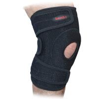 OK布户外运动弹簧登山护膝打孔透气耐磨骑行防老寒腿护膝防寒防风护膝护具