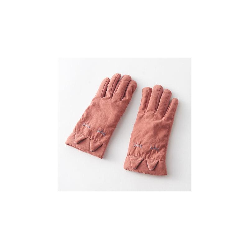 冬季骑车手套女冬 可爱防风防寒加厚棉手套女冬 保暖 加绒 品质保证 售后无忧