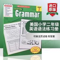 华研原版 学乐进口英文原版英语教材 美国小学二年级英语语法练习册 Scholastic Success with Gr