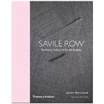 英国男装服饰服装定制 Savile Row: Tailors of British Bespoke 英文服装设计书籍