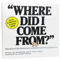 正版 我从哪里来?英文原版 Where Did I Come From 性教育启蒙绘本 性别教育图画书 认识你的身体