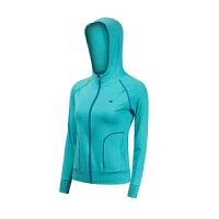 韩国健身服女外套连帽瑜伽服长袖上衣开衫健身房运动训练卫衣外套