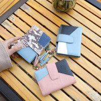 折叠多功能钱夹卡包零钱包大容量韩版真皮女士短款小钱包