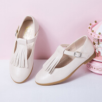女童皮鞋 春秋季儿童单鞋时尚公主鞋中童学生
