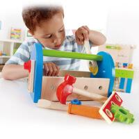 Hape我的工具盒3-6岁儿童宝宝益智木制玩具婴幼玩具过家家玩具E3001