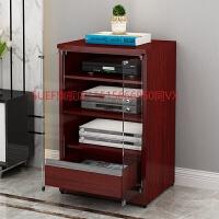 功放机柜木质功放机架KTV影音架子音响柜影院机箱设备器材柜子