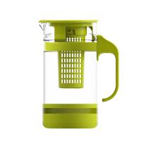 茶花冷水壶透明耐热玻璃泡茶壶花茶壶凉水壶冷水杯