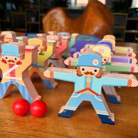 大力士叠叠高平衡积木男女孩早教益智亲子互动游戏叠叠乐儿童玩具