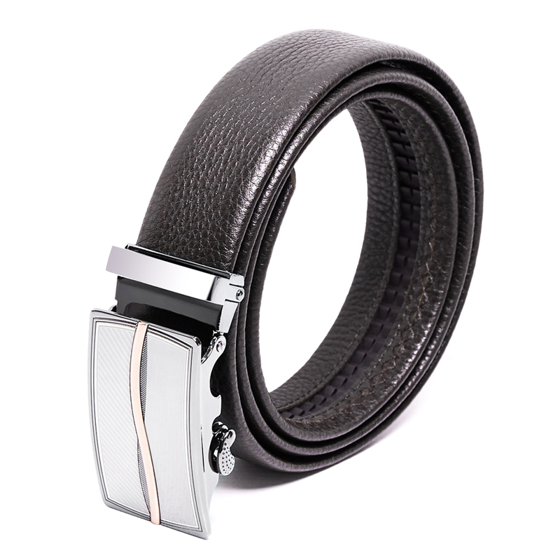 新品自动扣皮带男士商务出行裤带 腰带潮SG1021