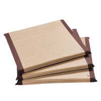 瑜伽家用飘窗坐垫榻榻米日式方形蒲团坐垫草编禅修打坐垫拜佛禅垫