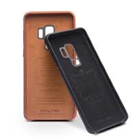 包邮支持礼品卡 星galaxy s9 手机套 真皮 商务 s9+ plus 手机壳 后盖 保护壳 简约