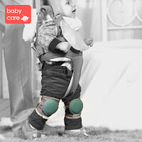 babycare婴儿宝宝爬行学步护膝 运动防摔 学步带搭配护膝一对装