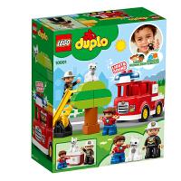 【当当自营】乐高(LEGO)积木 得宝DUPLO 玩具礼物2岁+ 鸣笛消防车 10901