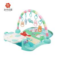 新生儿3-12个月宝宝玩具脚踏钢琴婴儿健身架器