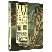 现货正版 Art of the Western World 英文原版 西方世界的艺术 英文版艺术进口英语书 Bruce
