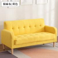 拉点布艺沙发单人双人三人卧室现代简约小户型阳台经济型ins网红