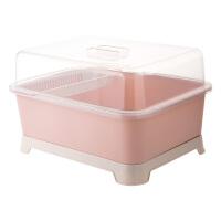 溧水的碗架 带盖碗碟架放碗架收纳盒沥水架装碗筷收纳箱厨房碗柜置物架