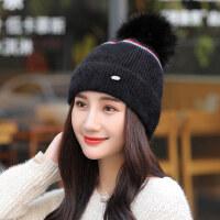 帽子女韩版毛线帽百搭甜美可爱针织帽学生日系时尚潮帽
