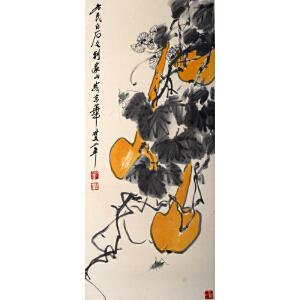 R118齐白石花卉草虫