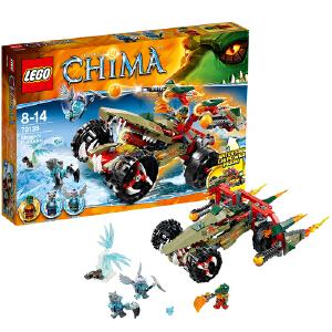 LEGO 乐高 Chima气功传奇系列 鳄霸王的烈焰战车 积木拼插儿童益智玩具 70135