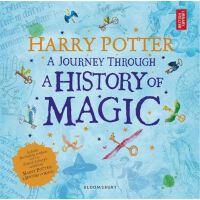 哈利波特 一场魔法历史的旅程 魔法史之旅 英文原版 Harry Potter A Journey T,哈利波特 一场魔