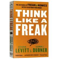 正版现货 魔鬼经济学3 用反常思维解决问题 英文原版 经济学书籍 Think Like a Freak 纽约时报书单