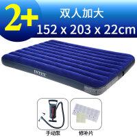 充气床单人家用加厚户外气垫床简易床折叠床充气床垫双人