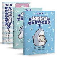 在弱肉强食的世界里自由生活(套装3册)鲨鱼和海豹治愈生活
