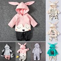 婴儿童套装0岁3个月新生儿衣服冬季衣服宝宝爬服春季衣服8