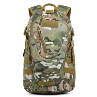 新款户外背包25L日用登山包骑行背包战术背包学生书包休闲双肩包 20升以下